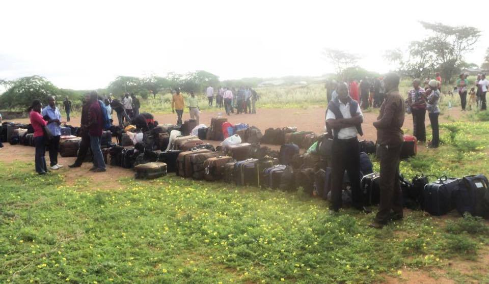 CONFUSION: Government DECLINES to EVACUATE to Nairobi Christians CAMPING in Mandera KDF Airstrip