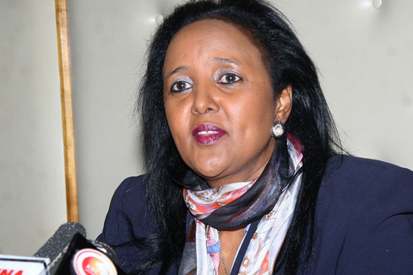 Uhuru 'Kitchen' cabinet fights: 'Go KILL YOURSELVES' Hon Moses Kuria tells CS Foreign Affiars Amina Mohammed on Twitter