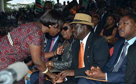 HERO'S  SEND-OFF for Senator Otieno Kajwang as MOURNERS Paid last respects