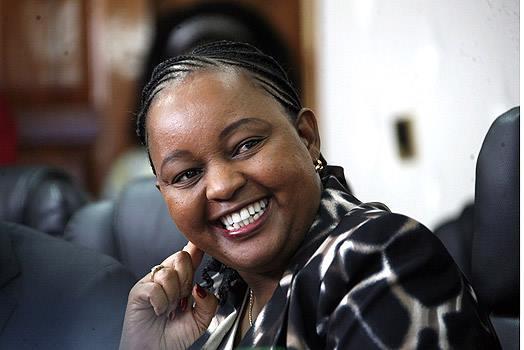 Devolution Cabinet Secretary Anne Waiguru eyes Kibera 2022