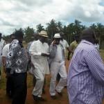 UNITED ODM: Raila , Governor Joho, Ababu Namwamba ARRIVE in Kwale for Senator Zani's mother FUNERAL