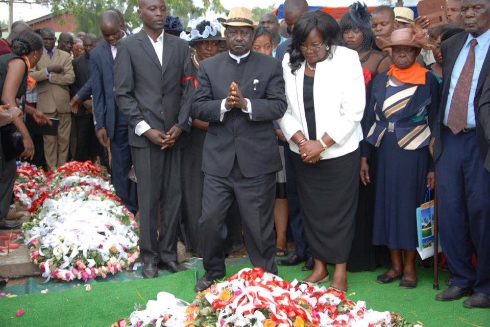 FINALLY Raila OPENS UP on WHY he TRUSTED the late Hon Kajwang' MOST of all Luo Leaders