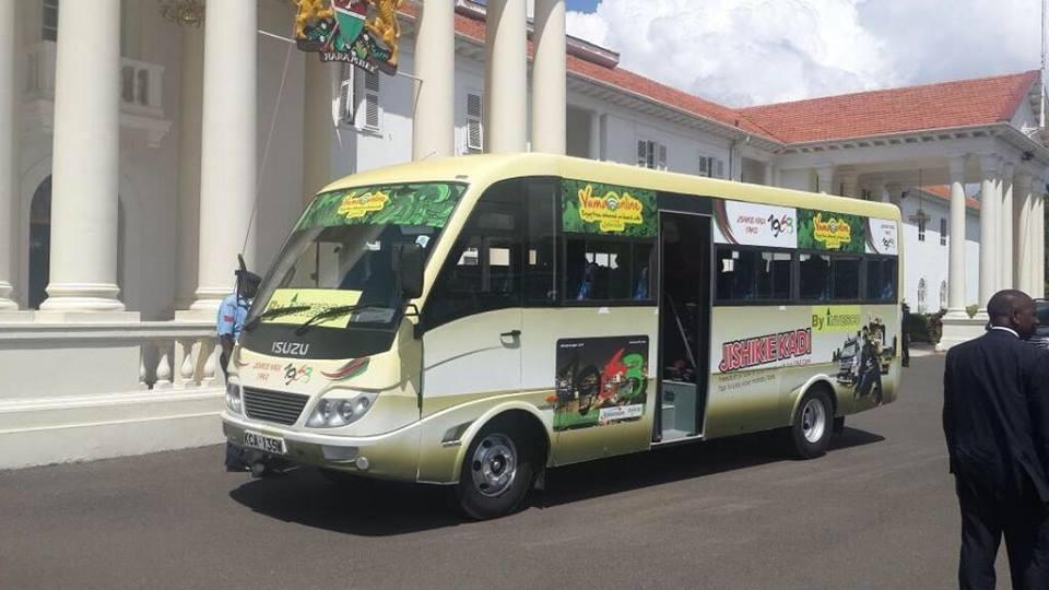 SHOCK: President Uhuru OVERTURNS Michuki Matatu Rules on graffiti and artworks