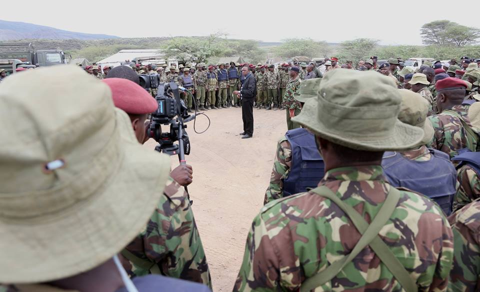 Uhuru FLOODS Baringo with GSU Police, as Locals fear EXECUTION of innocent YOUTHS in the area.
