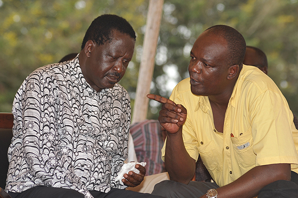 Hon Gedion Mung'aro DISMISSES JUBILEE Propaganda says he is in ODM  to STAY as Kilifi people are pro-Raila