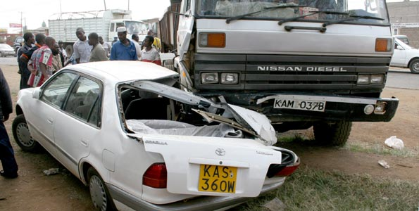 WARNING: TEN  ACCIDENT BLACK SPOTS in Nairobi