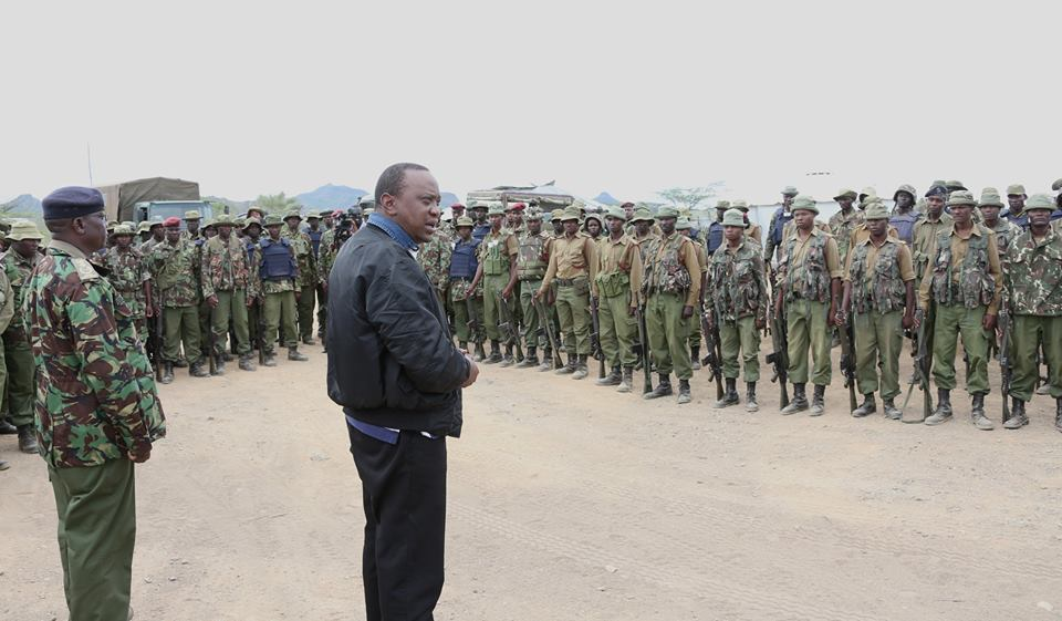 FIVE simple things alleged 'Facebook ADDICT' Uhuru NEEDS to do to guarantee SECURITY to all Kenyans