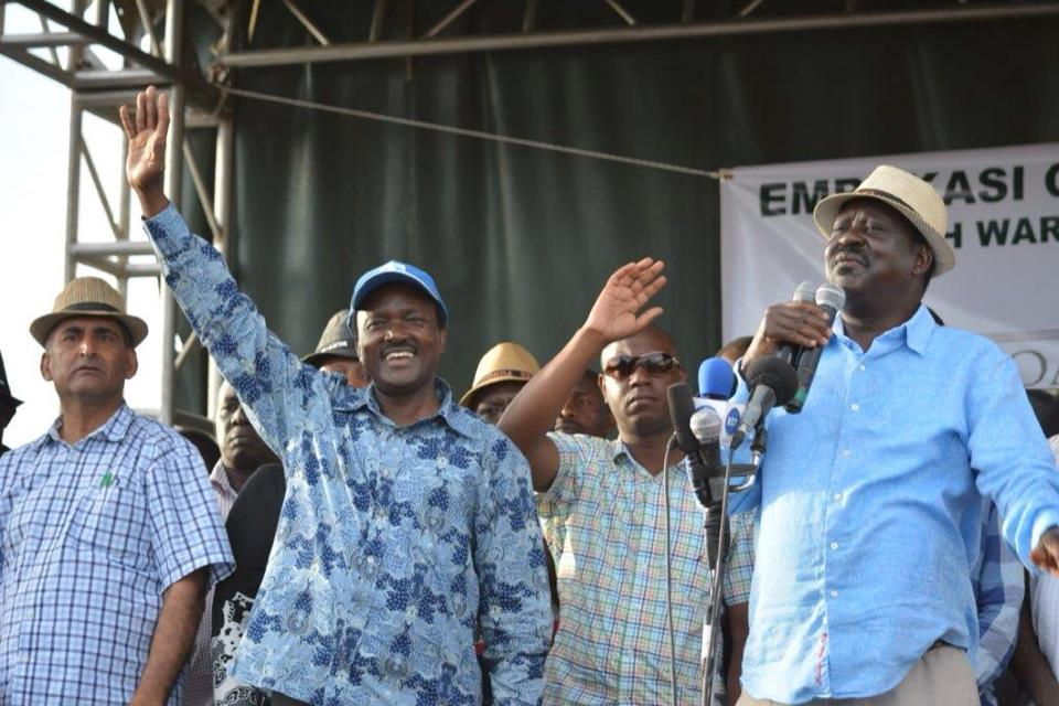 Raila and Kalonzo say INCOMPETENCE to blame for loss of LIVES in the COUNTRY