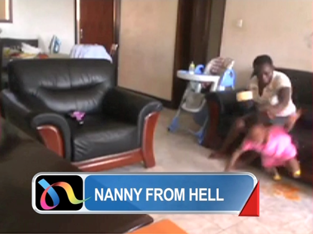 RAW Video (UNEDITED) of the Ugandan HOUSE GIRL- NannyFromHELL TORTURING a baby