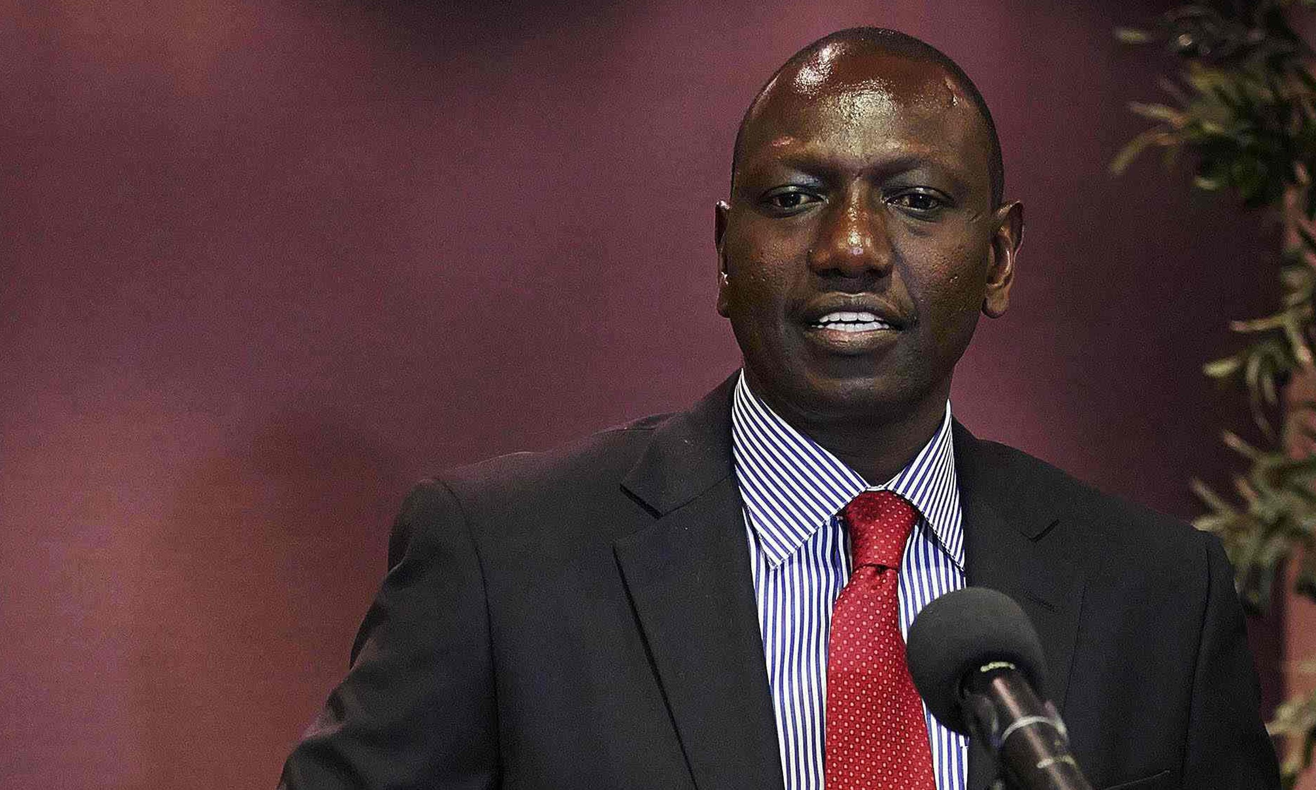 BREAKING: Deputy President 'Businessman' Ruto to ADDRESS media on Mandera Killings