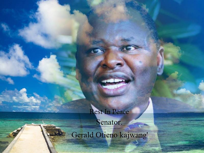 Robert Alai: The late Senator Gerald Otieno Kajwang may have been POISONED,