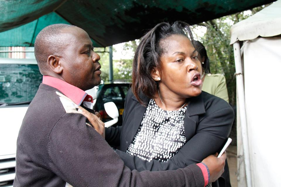 DRAMA at Lee Funeral as woman CLAIMING to be WIFE to Hon Kajwang' is EJECTED