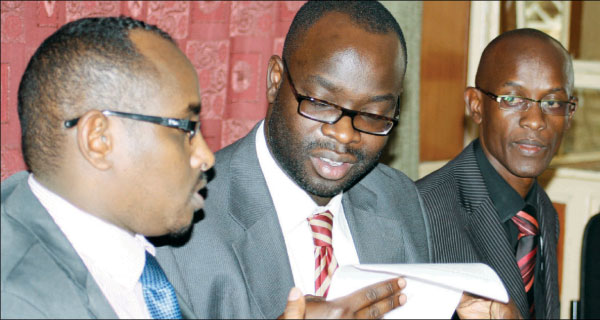 Blow to KEN OKOTH as Kibra Residents Return Okoa Kenya booklets