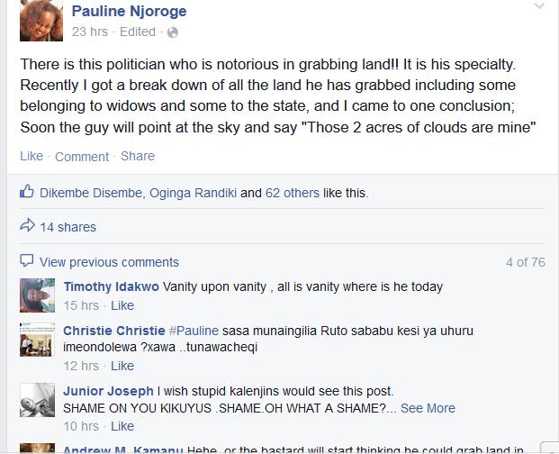 Did Uhuru's Social Media guru HIT Ruto below the belt?