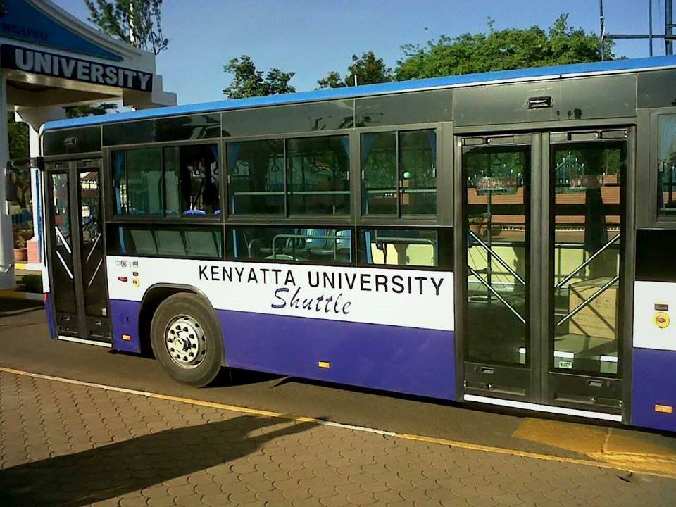 AMAZING: The 12 LUXURIES you get from travelling aboard Kenyatta University AirBus
