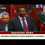 BREAKING: IEBC says Kajiado Central By-Election to REPLACE CS Nkaissery on 16th March 2015