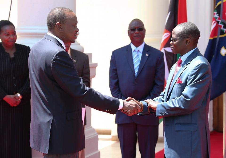 BREAKING: Uhuru NOMINATES Joseph Kipchirchir Boinet  to be the new POLICE BOSS