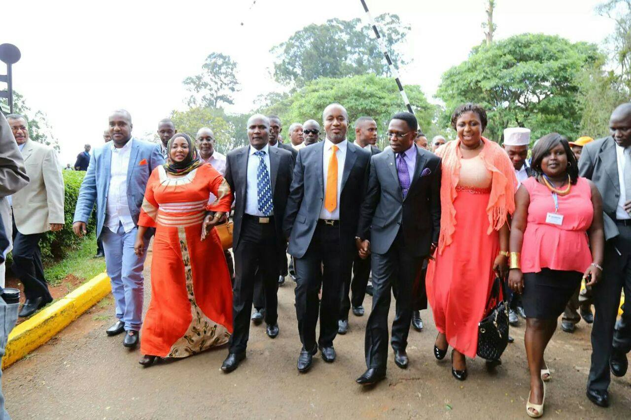 BREAKING: PROPOSED LIST of ODM national officials is ADOPTED by party NDC  meeting at Bomas of Kenya