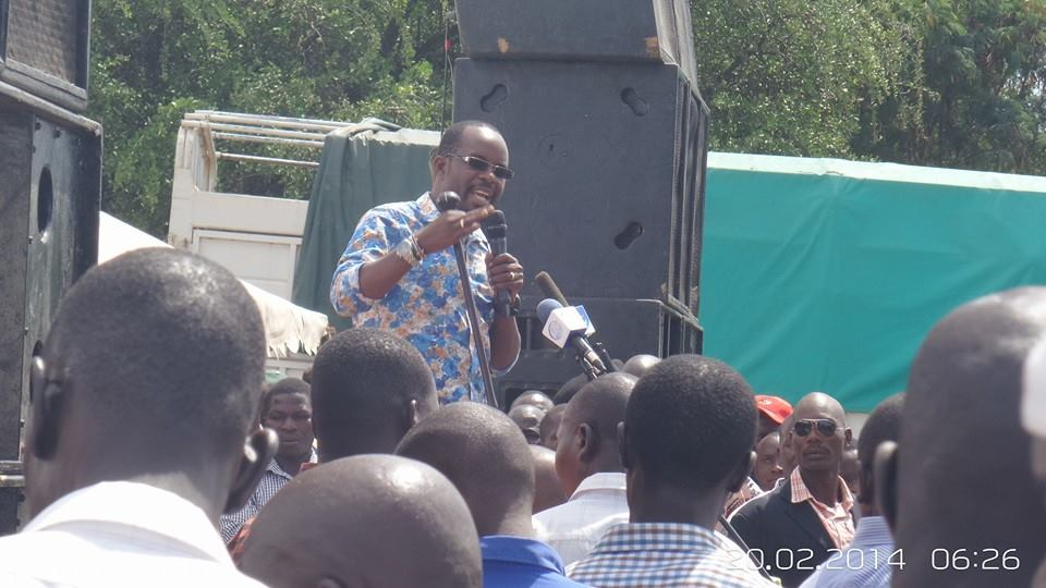 VIDEO: JAKAKIMBA takes Homa Bay by STORM as Tens of Thousands of supporters attend campaign launch