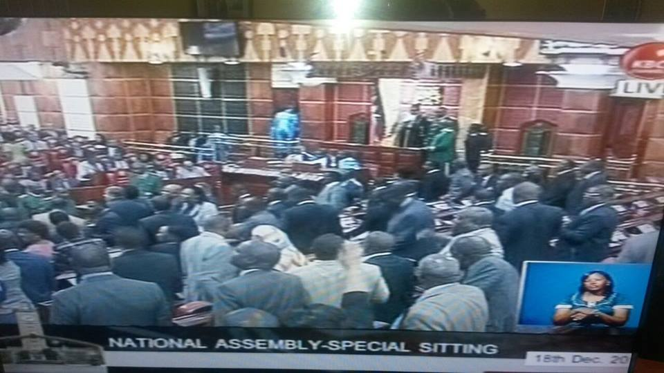 HERE are the TEN REASONS WHY CORD MPs caused CHAOS in Parliament