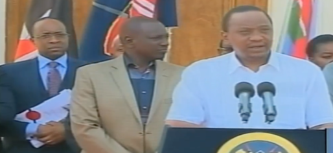 Uhuru signs the DRACONIAN security bill into LAW and tells Kenyans to read and avoid TROUBLE