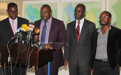 Raila's ODM ISSUES party TICKET to  Moses Kajwang' for the Homa Bay  senate by-election