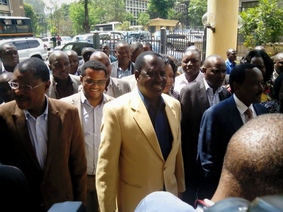 BREAKING: Raila, Kalonzo ARRIVES at the high court to STOP the DRACONIAN LAWS
