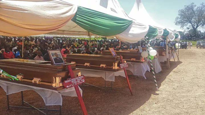 Grief in Kakamega as victims of Jubilee incompetence (Mandera Massacre) buried